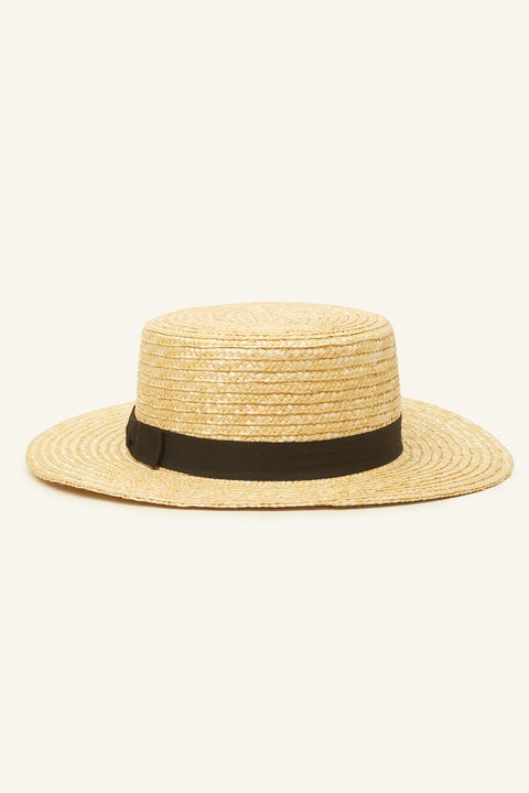 TOKEN Summer Time Boater Straw