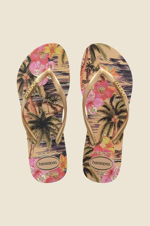 HAVAIANAS Slim Print Tropical Ivory