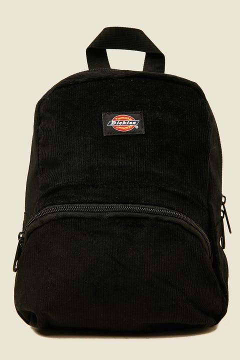 DICKIES Corduroy Mini Backpack Black