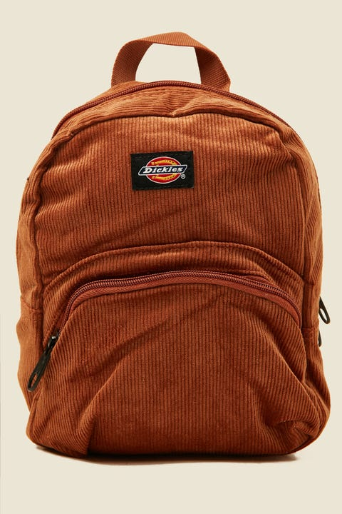 DICKIES Corduroy Mini Backpack Camel