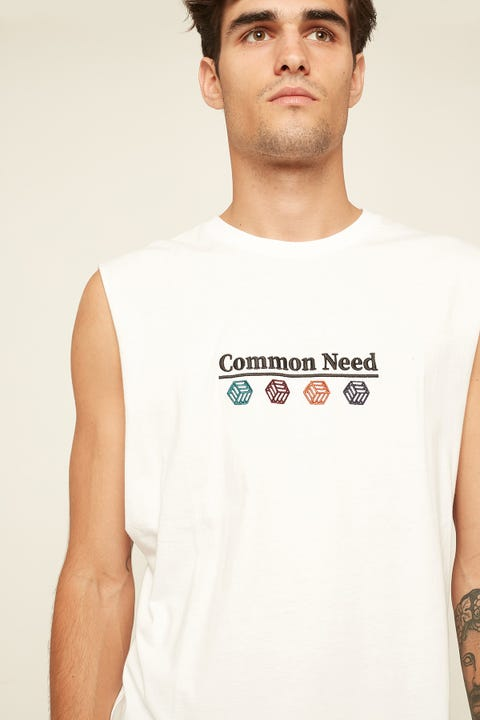 COMMON NEED Infinity Muscle White
