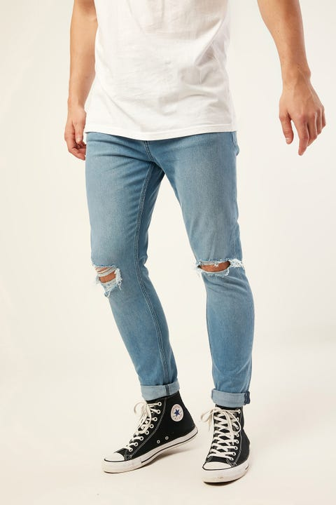LEE Z One Roller Jean Blue Monday