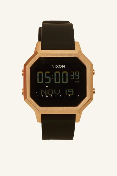 NIXON Siren SS Rose Gold/Black