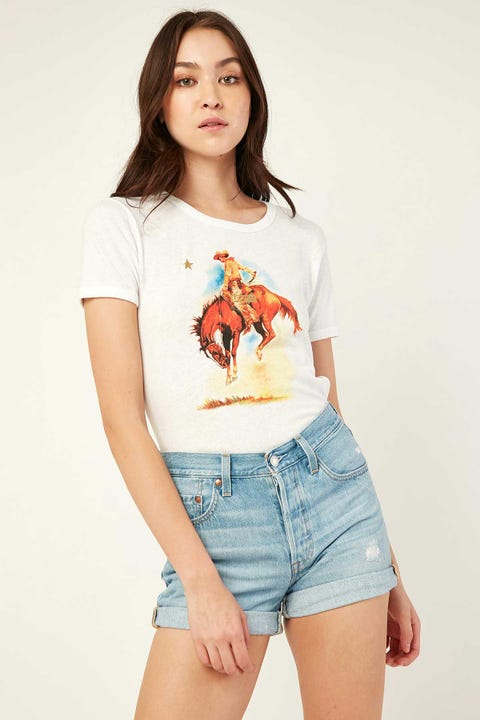 LEVI'S 501 Short Montgomery Mended