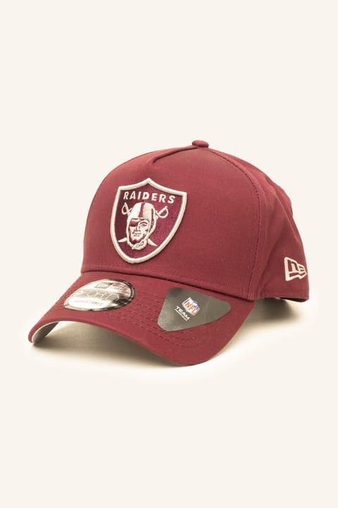 New Era 9Forty A-Frame Oakland Raiders Snapback Maroon/Grey
