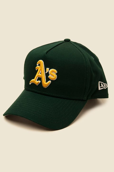 NEW ERA 9Forty A-Frame Oakland Athletics Snapback Dark Green/Gold
