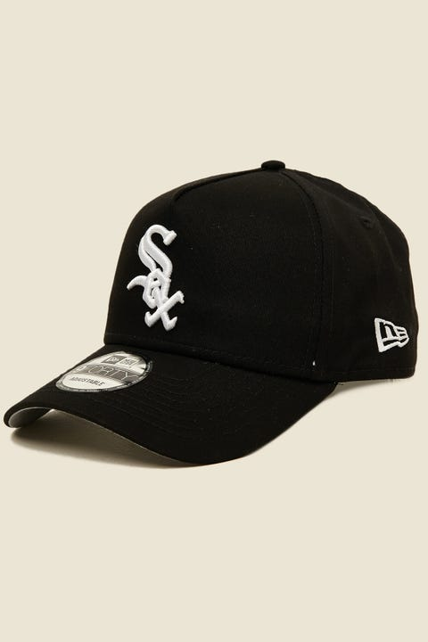 New Era 9Forty A-Frame Chicago White Sox Snapback Black/White
