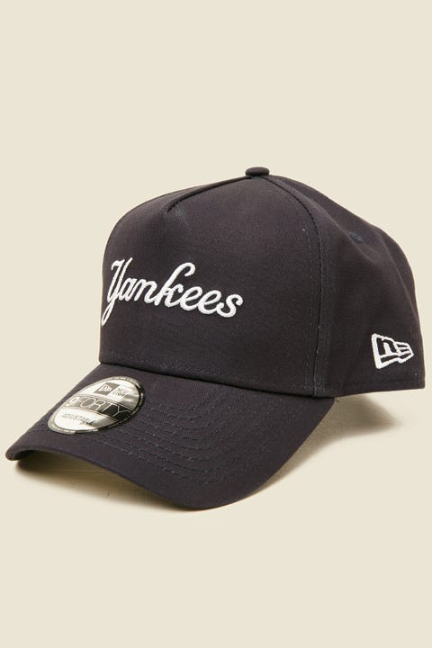 New Era 9Forty A-Frame NY Yankees Snapback Navy/White
