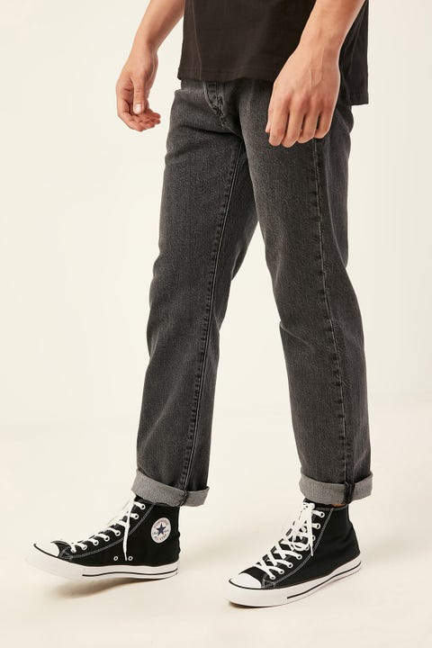 LEVI'S 501 '93 Straight Jean Raisin Stone Black
