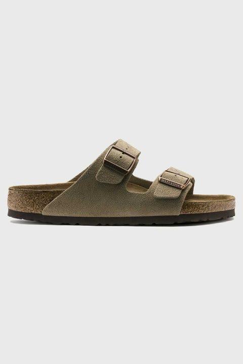 Birkenstock Mens Arizona SU Soft Footbed Taupe