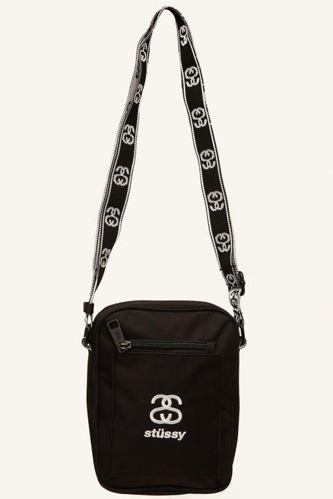 STUSSY Cult Messenger Bag Black