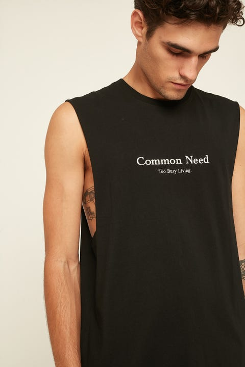 COMMON NEED Obsidian Muscle Black