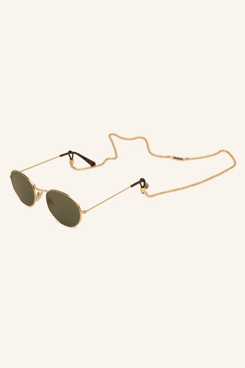 ICON BRAND Baller Sunglasses Chain Antique Gold
