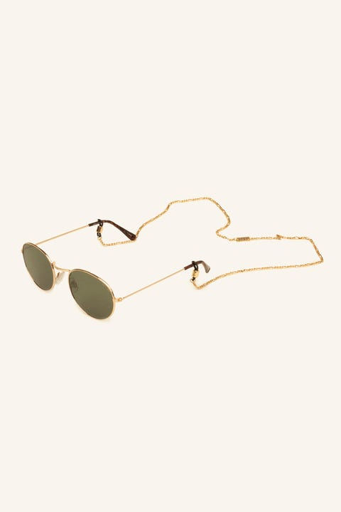 ICON BRAND Sacramento Sunglasses Chain Antique Gold