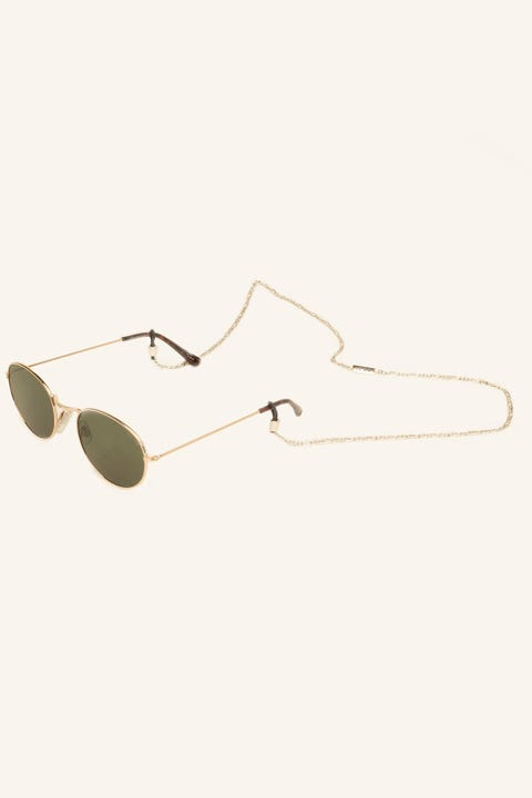 Icon Brand Sacramento Sunglasses Chain Antique Silver