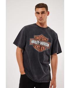 Harley-davidson Shield Tee Black