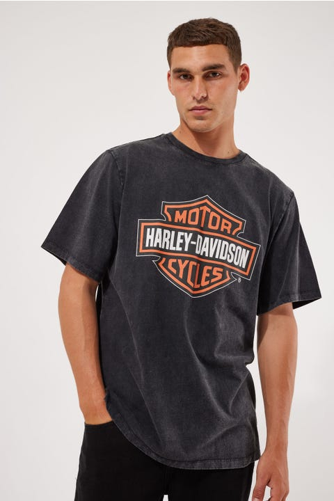 Harley-Davidson Shield Tee Black
