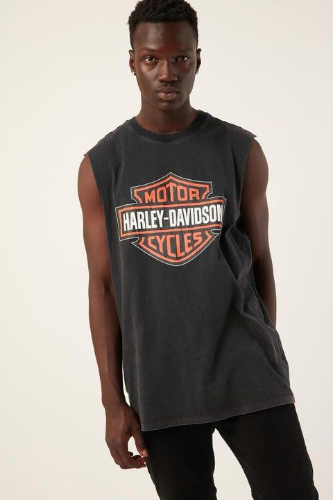 HARLEY-DAVIDSON Shield Muscle Vintage Black