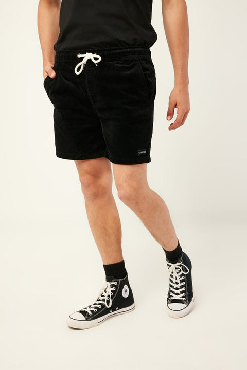 COMMON NEED Dogtown Stretch Cord Short Black