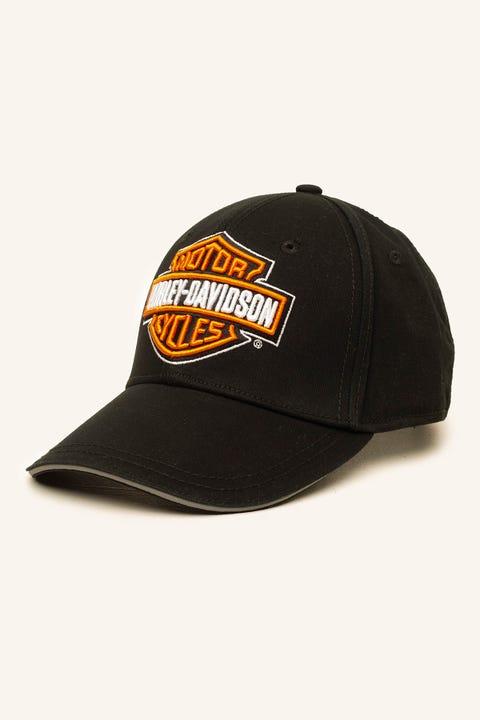 HARLEY-DAVIDSON Logo Cap Black