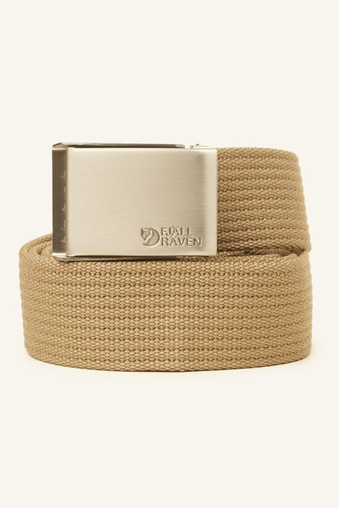 Fjallraven Canvas Belt Light Khaki
