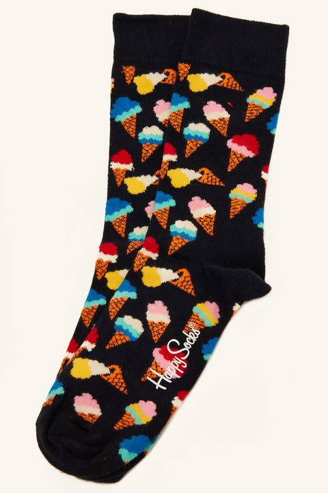 HAPPY SOCKS Ice-Cream Sock Navy/Multi