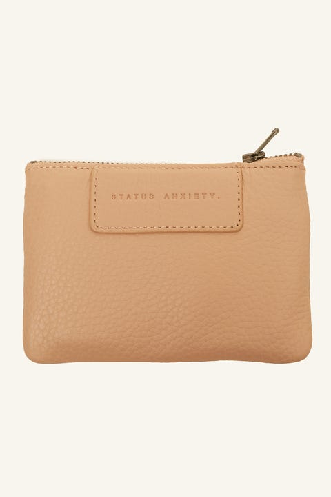 STATUS ANXIETY Anarchy Pouch Dusty Pink