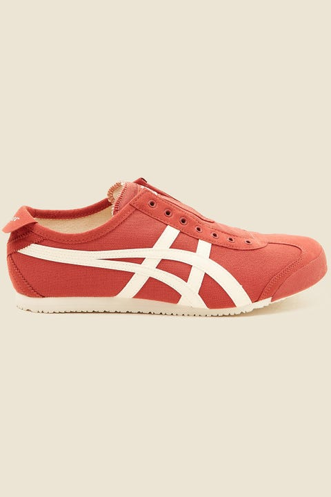 ONITSUKA TIGER Mexico 66 Slip-On Burnt Red/Cream
