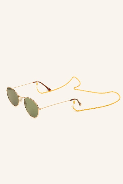 LE SPECS Hollow Rope Sunglasses Chain Gold
