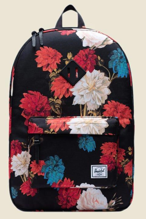 HERSCHEL SUPPLY CO. Heritage Vintage Floral Black
