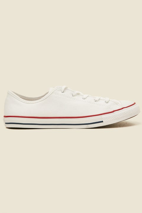 CONVERSE CT Dainty Canvas White/Red/Blue