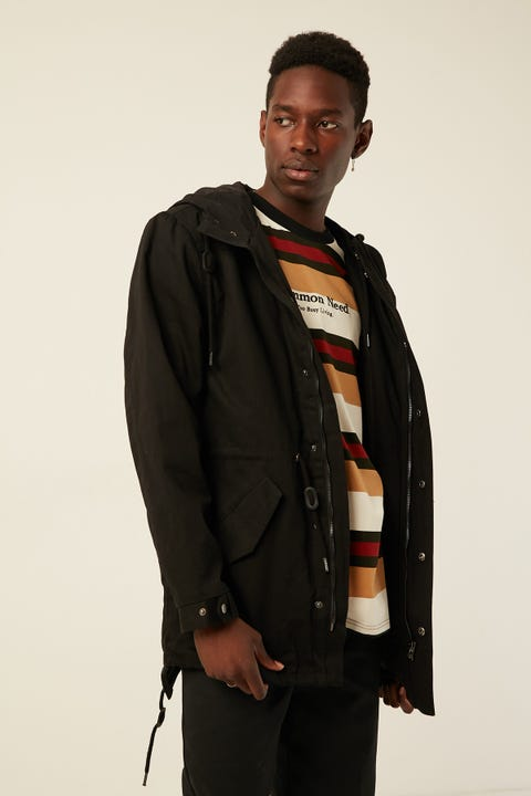 Common Need Valour Anorak Black