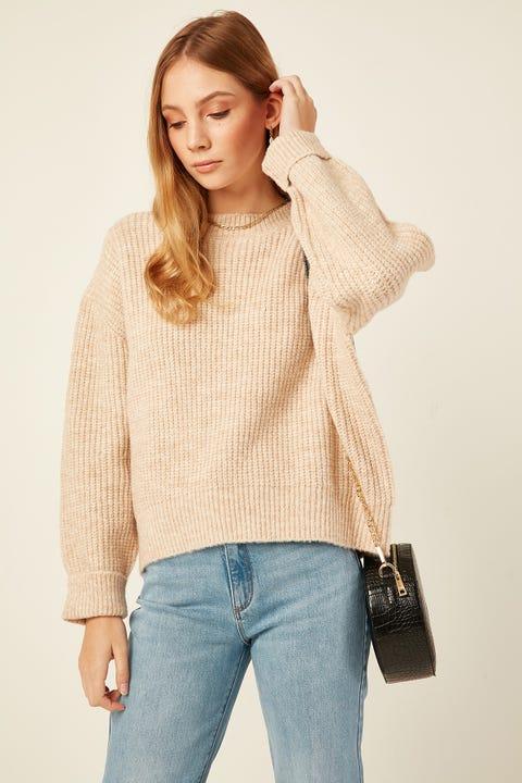 Perfect Stranger Aspen Knit Oatmeal