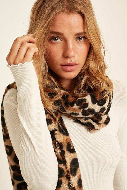 TOKEN Leopard Scarf Leopard