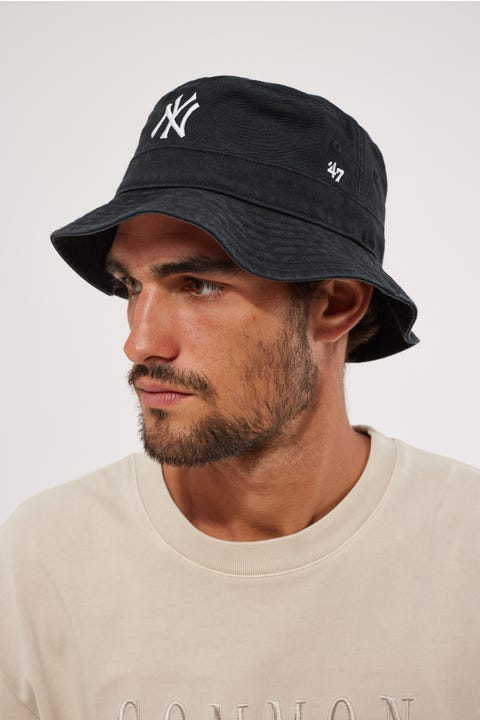 47 Brand Bucket Hat NY Yankees Black/White