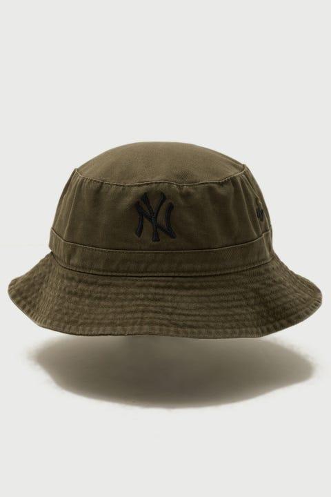 47 Brand Bucket Hat NY Yankees Sandlewood/Black