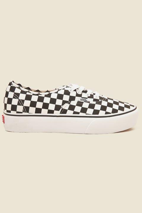 VANS Authentic Platform 2.0 Checkerboard/True White