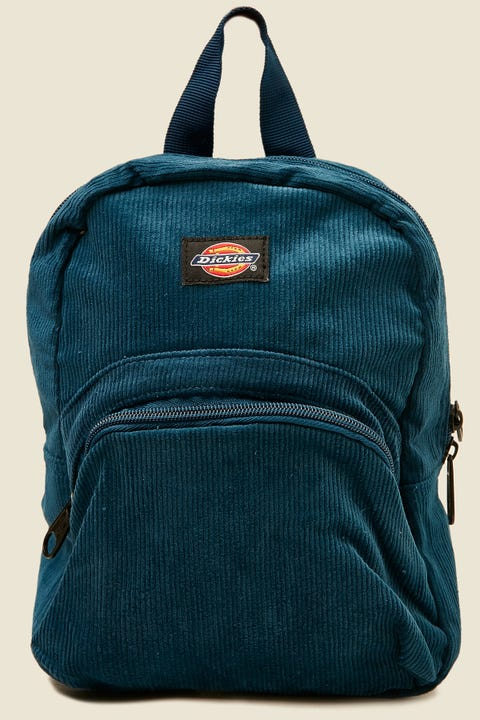 DICKIES Corduroy Mini Backpack Navy