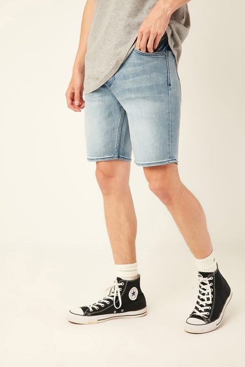 LEE Z Roadie Denim Short Spectrum Blue