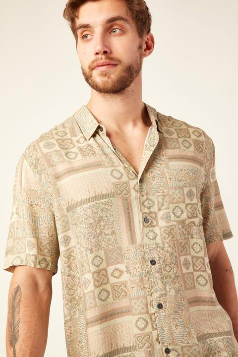 WRANGLER Garageland Shirt Beyond The Road