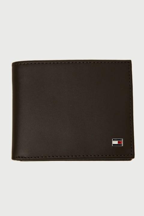 Tommy Jeans Eton Mini CC Wallet Brown