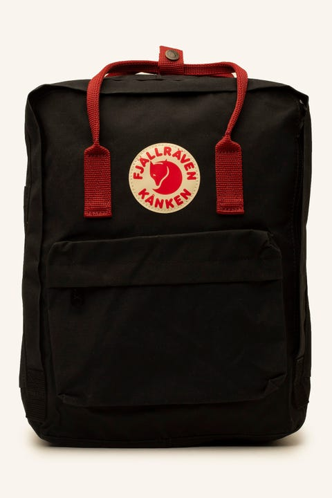Fjallraven Kanken Black/Ox Red