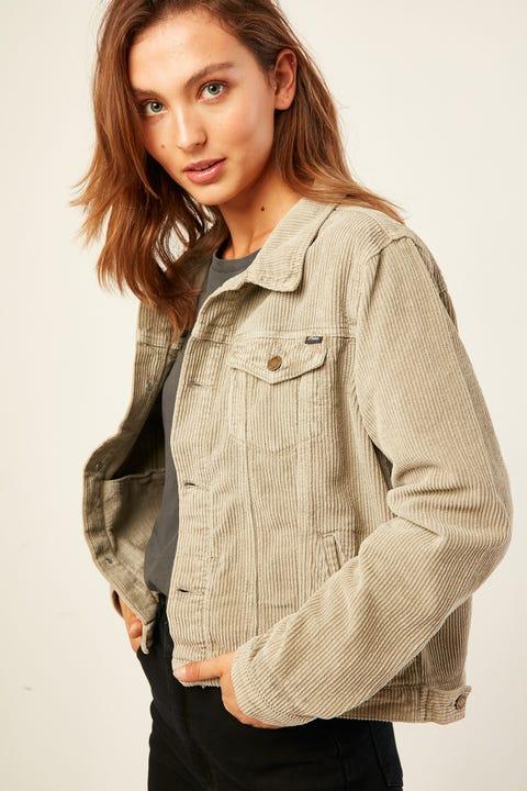 THRILLS Marlow Cord Jacket Dusty Sage