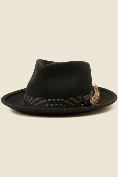 BRIXTON Swindle II Fedora Black