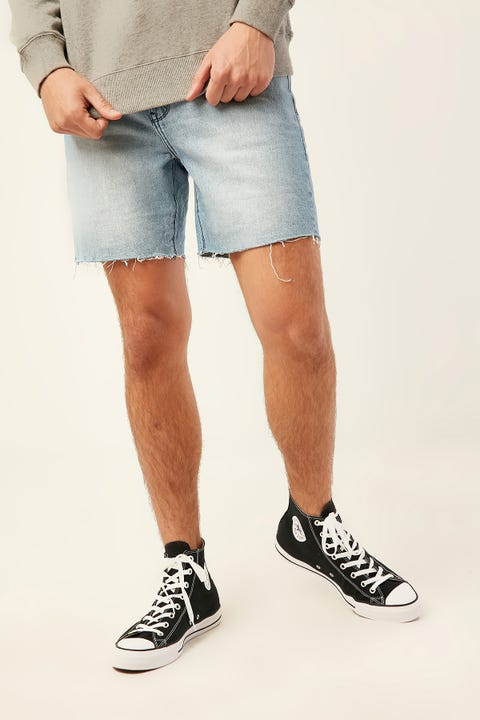 ABRAND A Cropped Slim Short Stone Valley