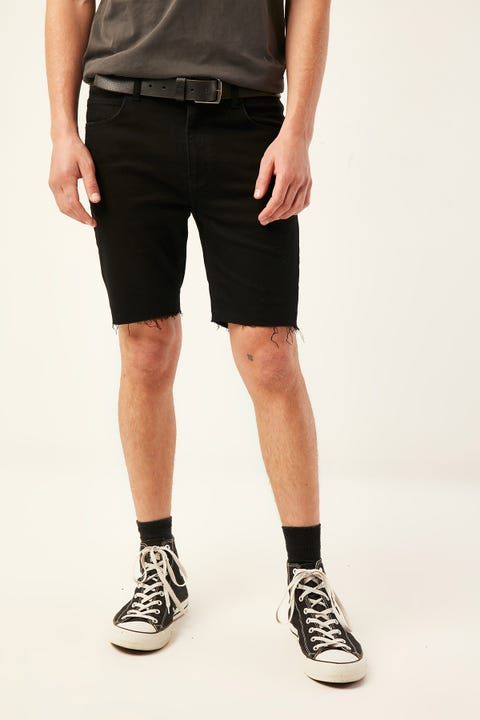 ABRAND A Dropped Skinny Short Blacksky