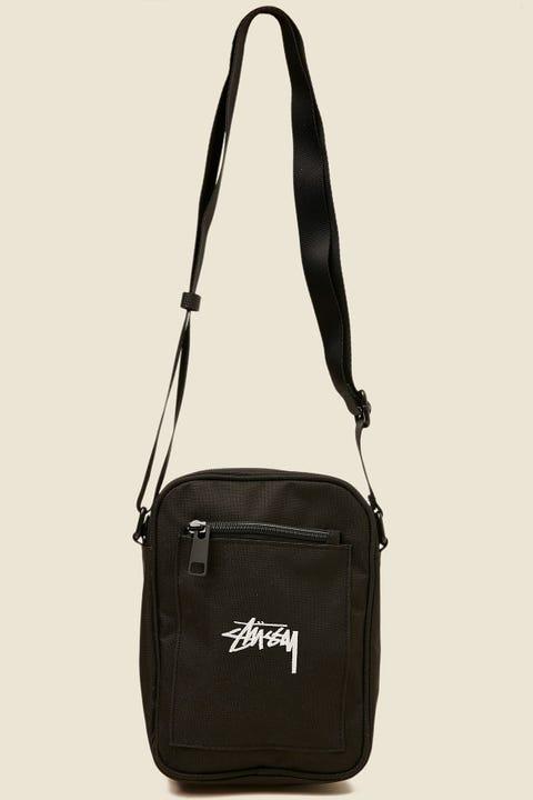 STUSSY Stock Messenger Bag Black
