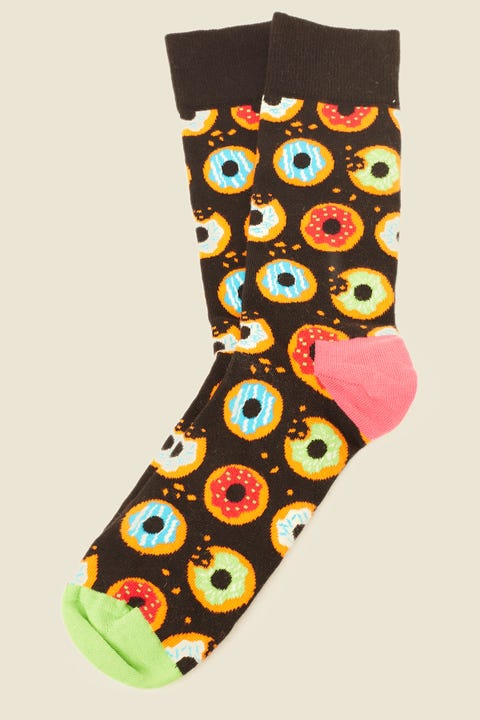 HAPPY SOCKS Donut Black/Multi