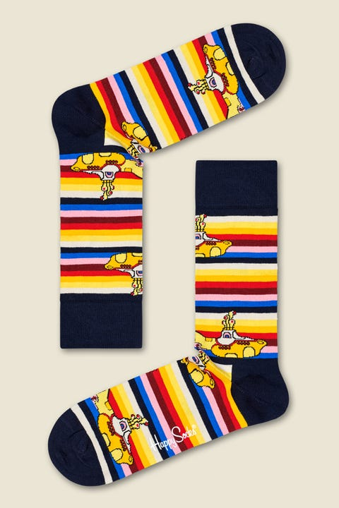 HAPPY SOCKS x The Beatles Yellow Submarine Stripe Multi