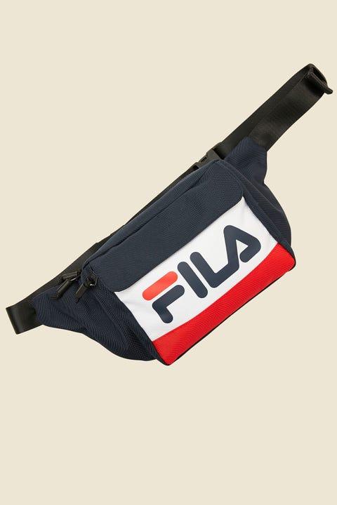 FILA Lindon Waist Bag Peacoat/White/Red
